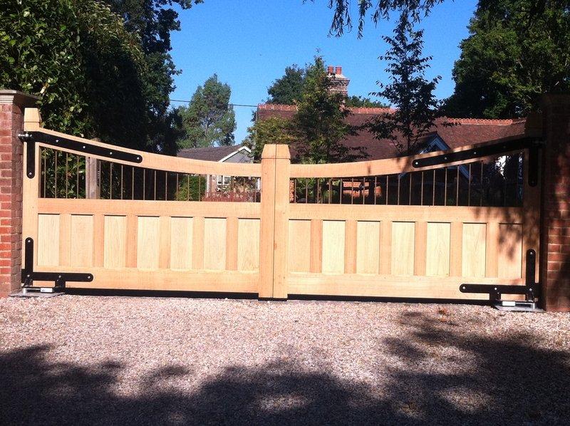 Half Board Gate